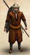 Сарранидский пехотинец