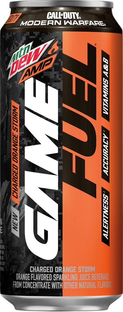 Amp Game Fuel Charged (Orange Storm)