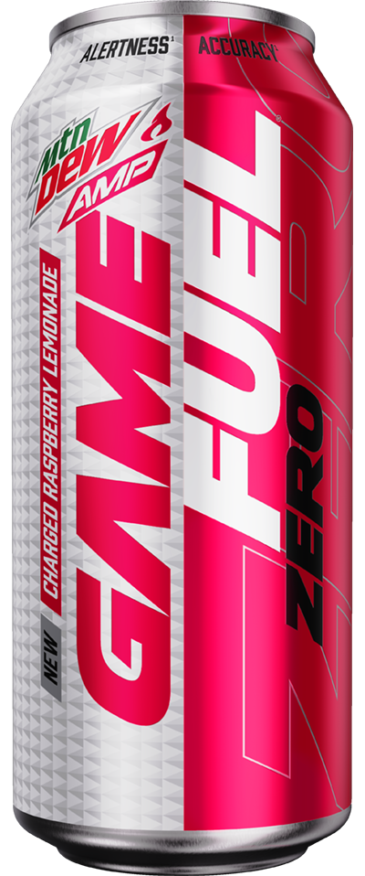 Amp Game Fuel Charged ZERO (Raspberry Lemonade)