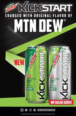 Mountain Dew Kickstart charged with Original Dew and Mountain Dew Kickstart Ultra.png