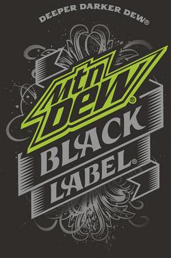 Mountain Dew Black Label Logo.png