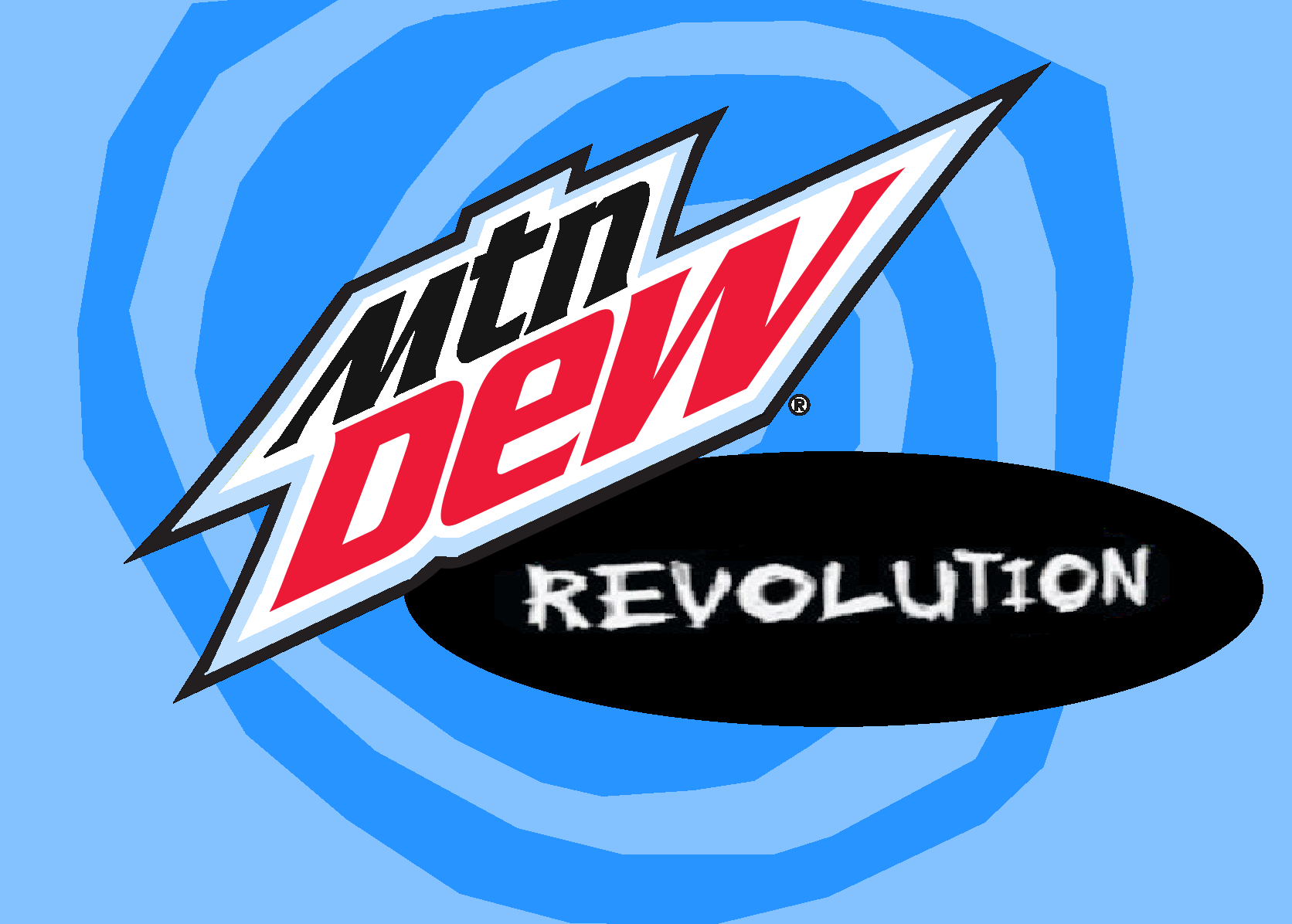 Mountain Dew Revolution logo in a blue swirl background.png