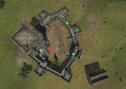 Knudarr Castle map