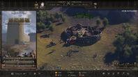Overland map siege
