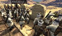 Siege aserai defending