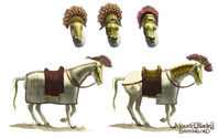 Horse concept art