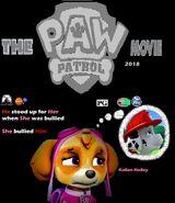 Skye miss Marshall PAW Patrol The movie