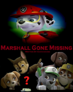 Marshall Gone Missing fanmade poster