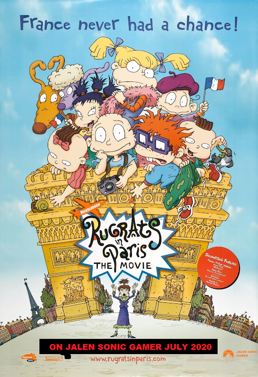 Tom and Jerry: Rugrats: In Paris