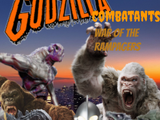 Godzilla Combatants: War of the Rampagers