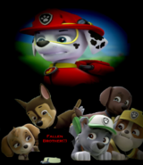 PAW Patrol The Movie Fallen Brother(question mark)