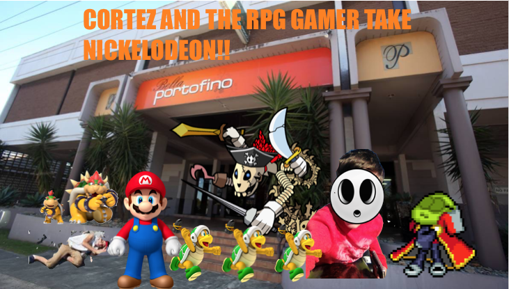 Cortez and The RPG Gamer take Nickelodeon