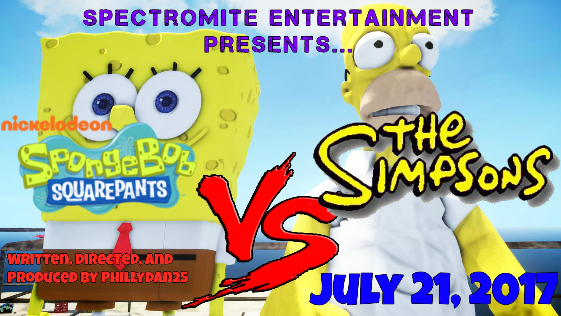 The Simpsons vs. SpongeBob SquarePants