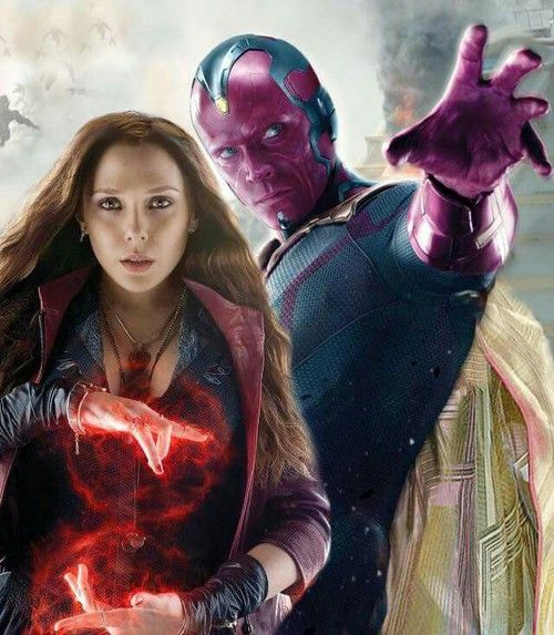Scarlet Witch and Vision (FranceSwitzerland)