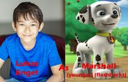 Lukas Engel as Marshall (younger)