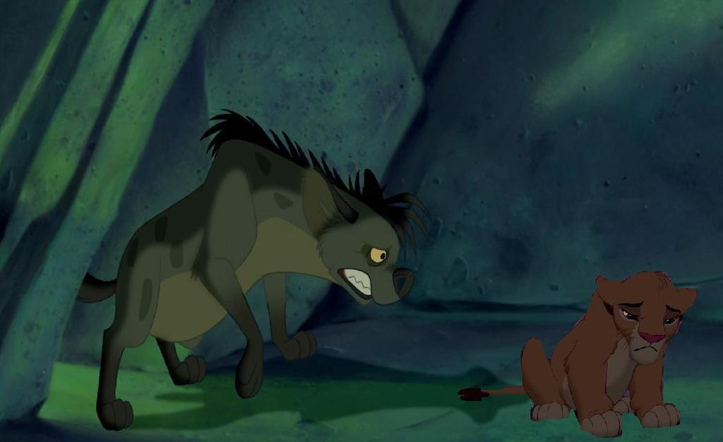 Simba and Shenzi