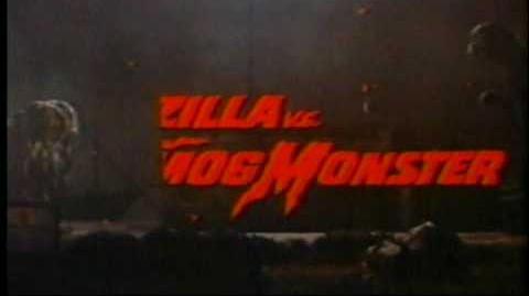 Godzilla vs. the Smog Monster movie trailer