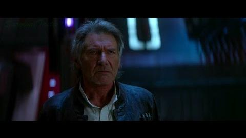 Star Wars VII- The Force Awakens (2015) - The Death of Han Solo Scene