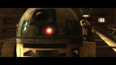 Star Wars Clone Wars R2-D2 VS R3-S6 HD