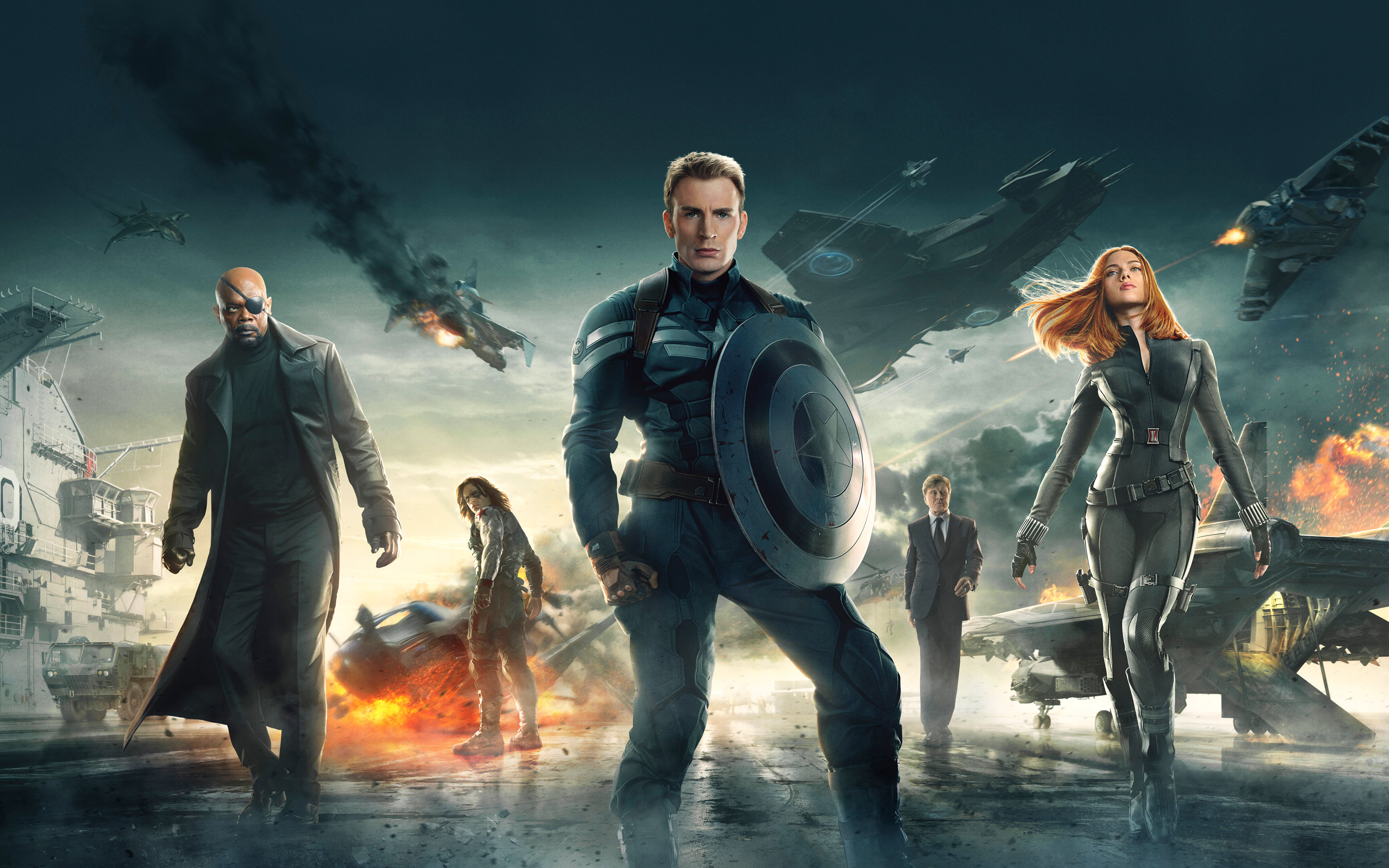 Captain America: The Winter Soldier - Extras