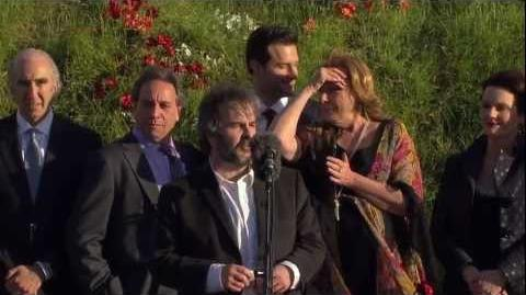 The Hobbit An Unexpected Journey Video 10, The Premiere