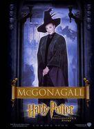 Der Stein der Weisen Charakterposter Minerva McGonagall (Englisch)