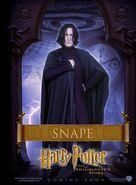 Der Stein der Weisen Charakterposter Severus Snape (Englisch)