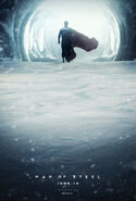 Man of steel fanmade poster by kc eazyworld-d625atx