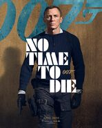 No Time to Die Charakterposter - James Bond