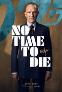 No Time to Die Charakterposter - M