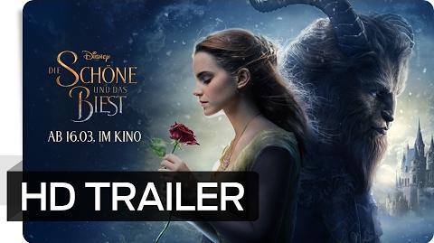 Die Schöne und das Biest - Neuer Trailer (deutsch german) Disney HD