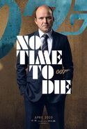 No Time to Die Charakterposter - Bill Tanner