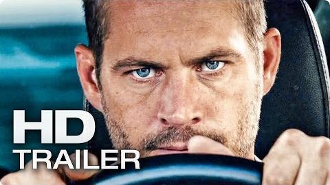 FAST AND FURIOUS 7 Trailer 2 German Deutsch (2015) Paul Walker, Vin Diesel