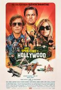 Once Upon a Time in Hollywood Final Poster