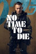 No Time to Die Charakterposter - Primo
