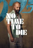 No Time to Die Charakterposter - Felix Leiter