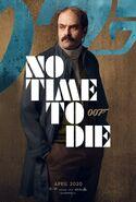 No Time to Die Charakterposter - Waldo Obruchev