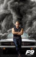 F9 - The Fast Saga - Dominic Poster