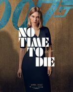No Time to Die Charakterposter - Madeleine Swann