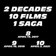 Fast & Furious finale Trilogie