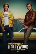 Once Upon a Time in Hollywood Teaserposter