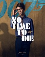 No Time to Die Charakterposter - Q