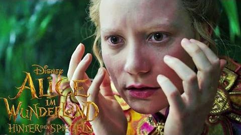 ALICE IM WUNDERLAND Hinter den Spiegeln - Offizieller Trailer (Deutsch) - Disney HD