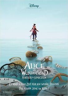 Alice im Wunderland - Hinter den Spiegeln Hutmacherposter