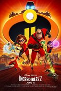 Incredibles 2 Final Poster