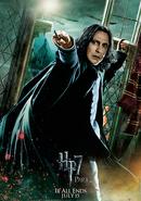 Die Heiligtümer des Todes, Teil 2 Charakterposter Severus (Englisch)