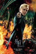 Die Heiligtümer des Todes, Teil 2 Charakterposter Draco (Englisch)