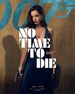 No Time to Die Charakterposter - Paloma