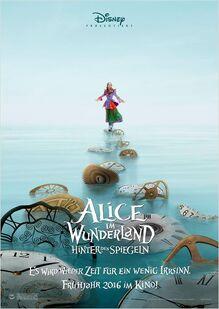 Alice im Wunderland - Hinter den Spiegeln Aliceposter
