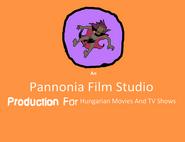 1981-1990 Pannonia Film Studio Logo
